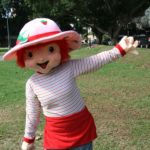 STRAWBERRY SHORTCAKE MASCOT