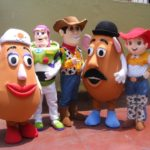 TOY STORY MASCOTS